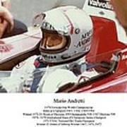 Mario Andretti Art Print by Don Struke