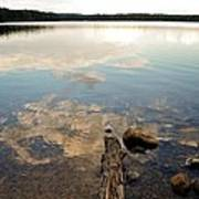 Marion Lake Reflections Art Print