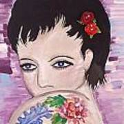 Marissa Art Print by Karen Carnow