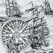 Maritime Heritage Art Print