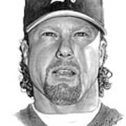 Mark Mcgwire Print by Harry West