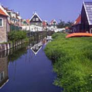 Marken Canal Art Print