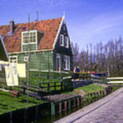Marken Village Architecture Art Print