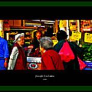 Market Day In Chinatown  Art Print