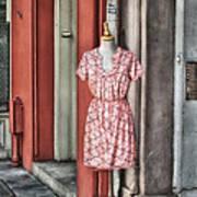 Market Fashion Art Print