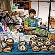 Market Fish Art Print