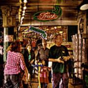 Market Fresh At Pike Place Market Art Print