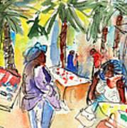 Market In Teguise In Lanzarote 03 Art Print