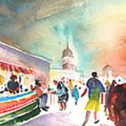 Market In Teguise In Lanzarote 06 Art Print