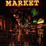 Market On Houston Art Print