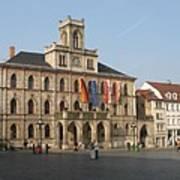 Market Place Weimar - Unesco Heritage Site Art Print