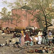 Market Plaza Art Print