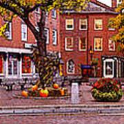 Market Square Harvest - 2005 Art Print