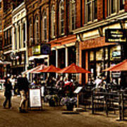 Market Square - Knoxville Tennessee Art Print