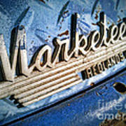 Marketeer Art Print by Pam Vick