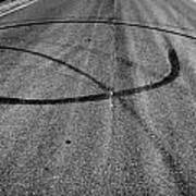 Marks In Our Road  Art Print