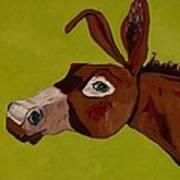 Marlene The Mule Art Print