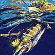 Marlin Catch Art Print