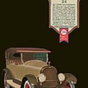 Marmon 34  - Vintage Poster Art Print