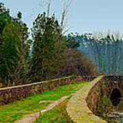 Marnel Medieval Bridge Art Print
