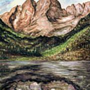 Maroon Bells Colorado - Landscape Art Print