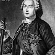 Marquis De Vaudreuil (1698-1778) Art Print
