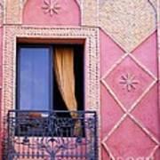 Marrakesh Balcony Art Print