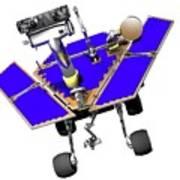 Mars Exploration Rover Art Print