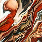 Mars Meets Venus 2 Art Print