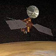 Mars Reconnaissance Orbiter Art Print