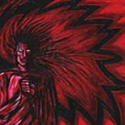 Mars Rising Art Print