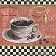 Marsala Coffee 1 Art Print
