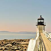 Marshall Point Lighthouse Maine Art Print