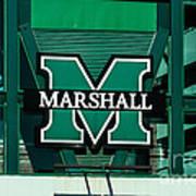 Marshall University Art Print