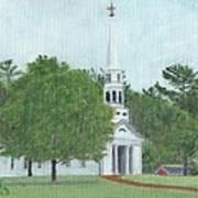 Martha Mary Chapel Art Print
