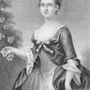 Martha Washington (1732-1801) Art Print