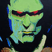 Martian Manhunter - A Close Encounter Art Print