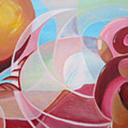 Martian Sunset Art Print by Silvie Kendall