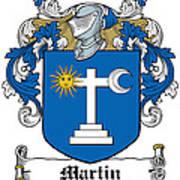 Martin Coat Of Arms Galway Ireland Art Print