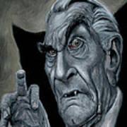 Martin Landau As Bela Art Print