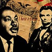 Martin Luther King Jr 2 Art Print
