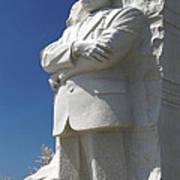 Martin Luther King Jr. Memorial Art Print by Mike McGlothlen