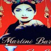Martini Bar Art Print