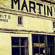 Martins General Store Art Print