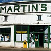 Martin's Art Print