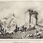 Martorell. Puente Del Diablo Or Devils Art Print