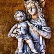 Mary And Jesus Art Print