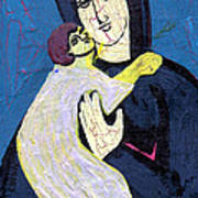 Mary And The Baby Jesus Art Print