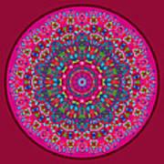 Mary Grace Mandala Art Print