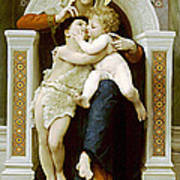Mary Jesus And John The Baptist Art Print